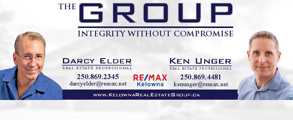 Darcy Elder Ken Unger Remax Kelowna