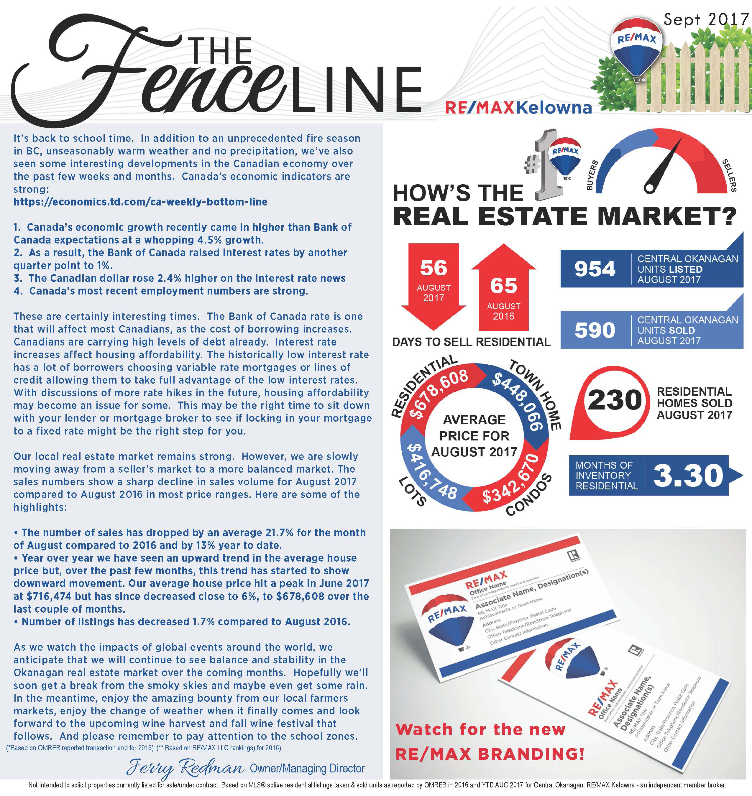 RE/MAX Kelowna Newsletter